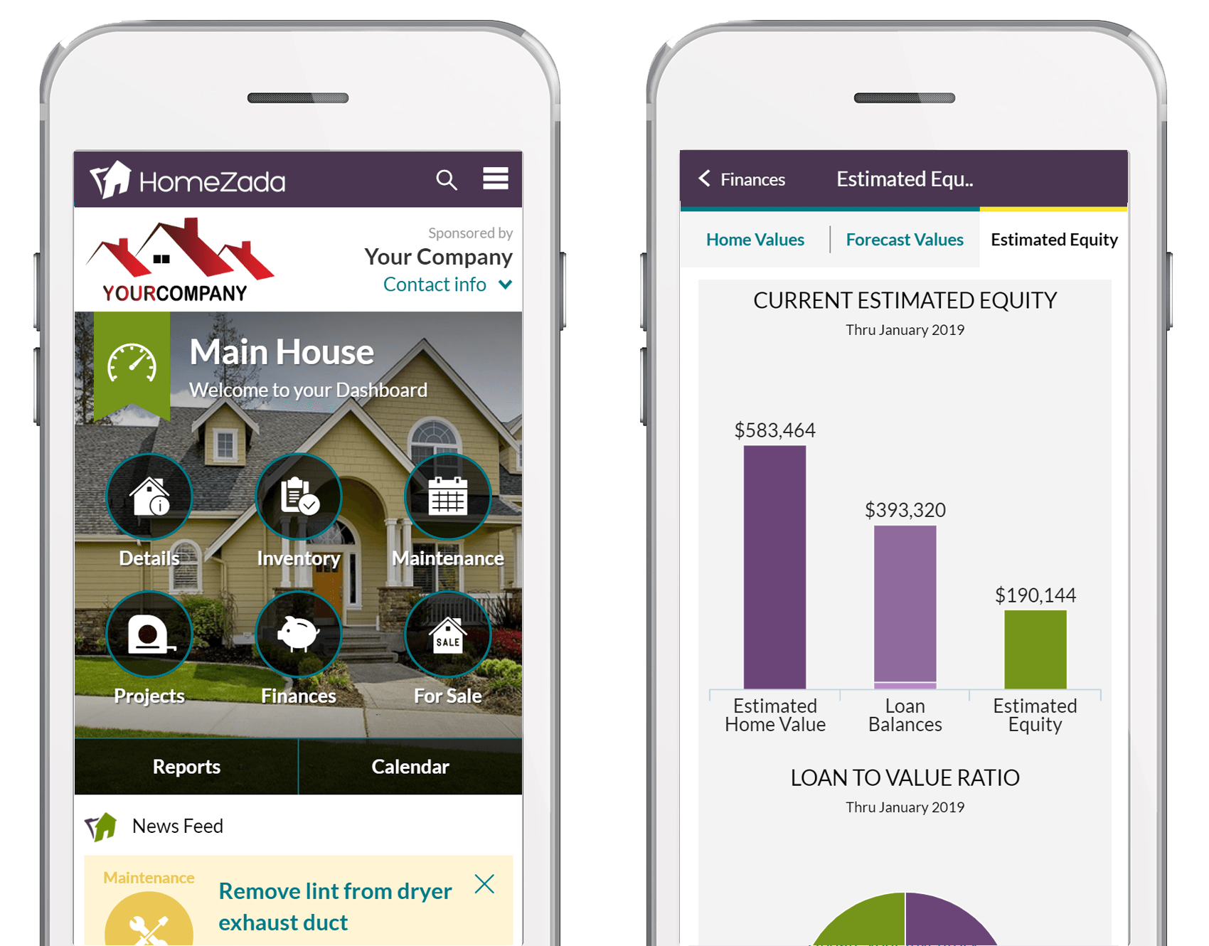 HomeZada for Mortgage Companies