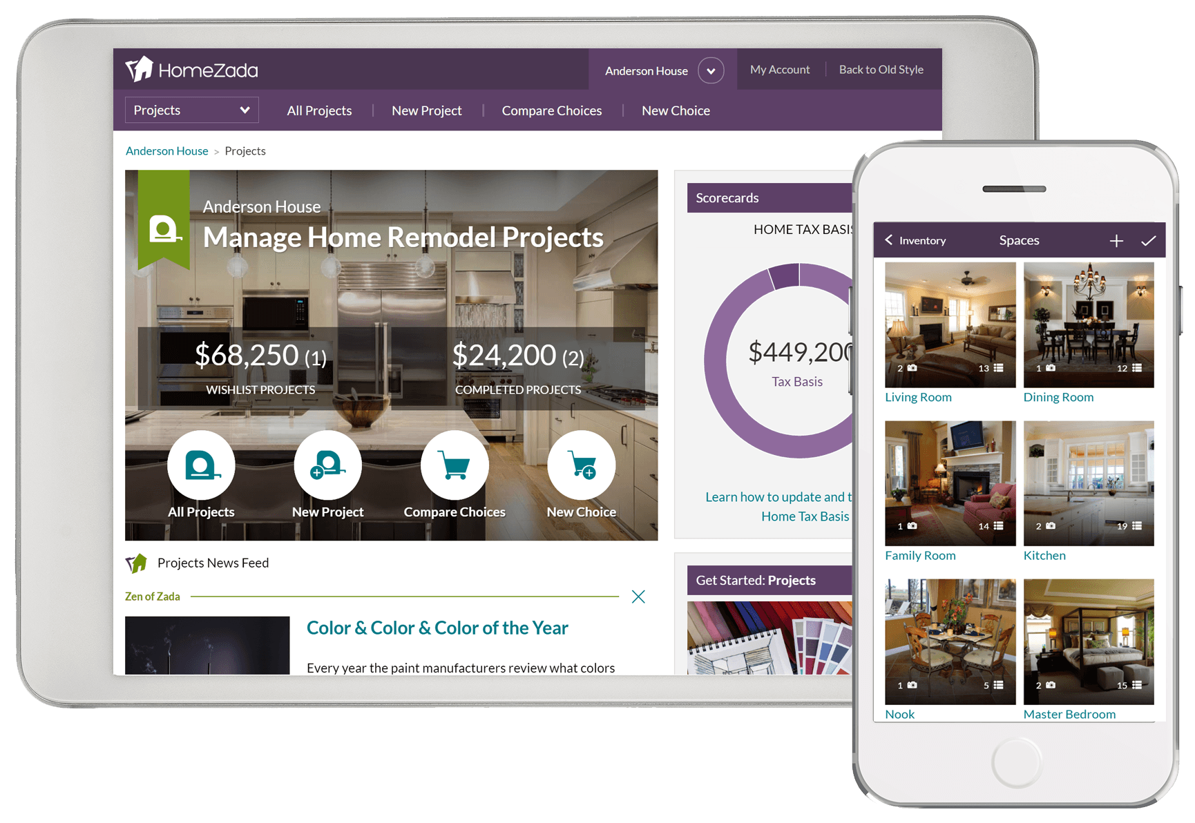 HomeZada: Best Home Maintenance App