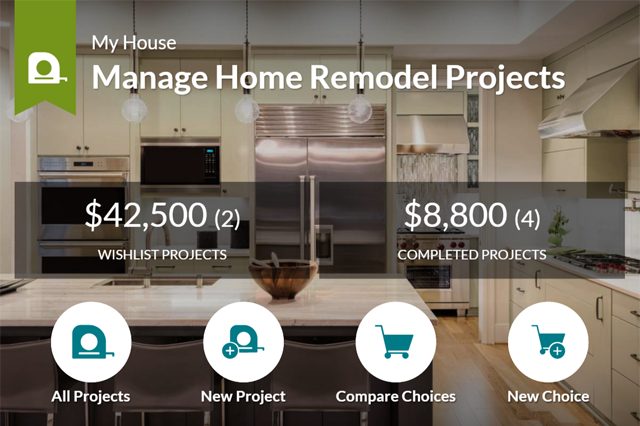 Home remodel project overview