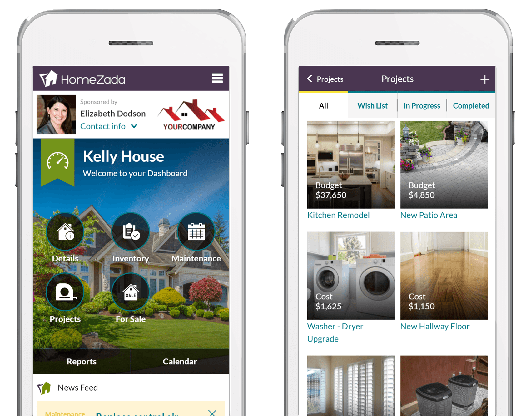 Homezada pro branding ad for realtors and real estate agents