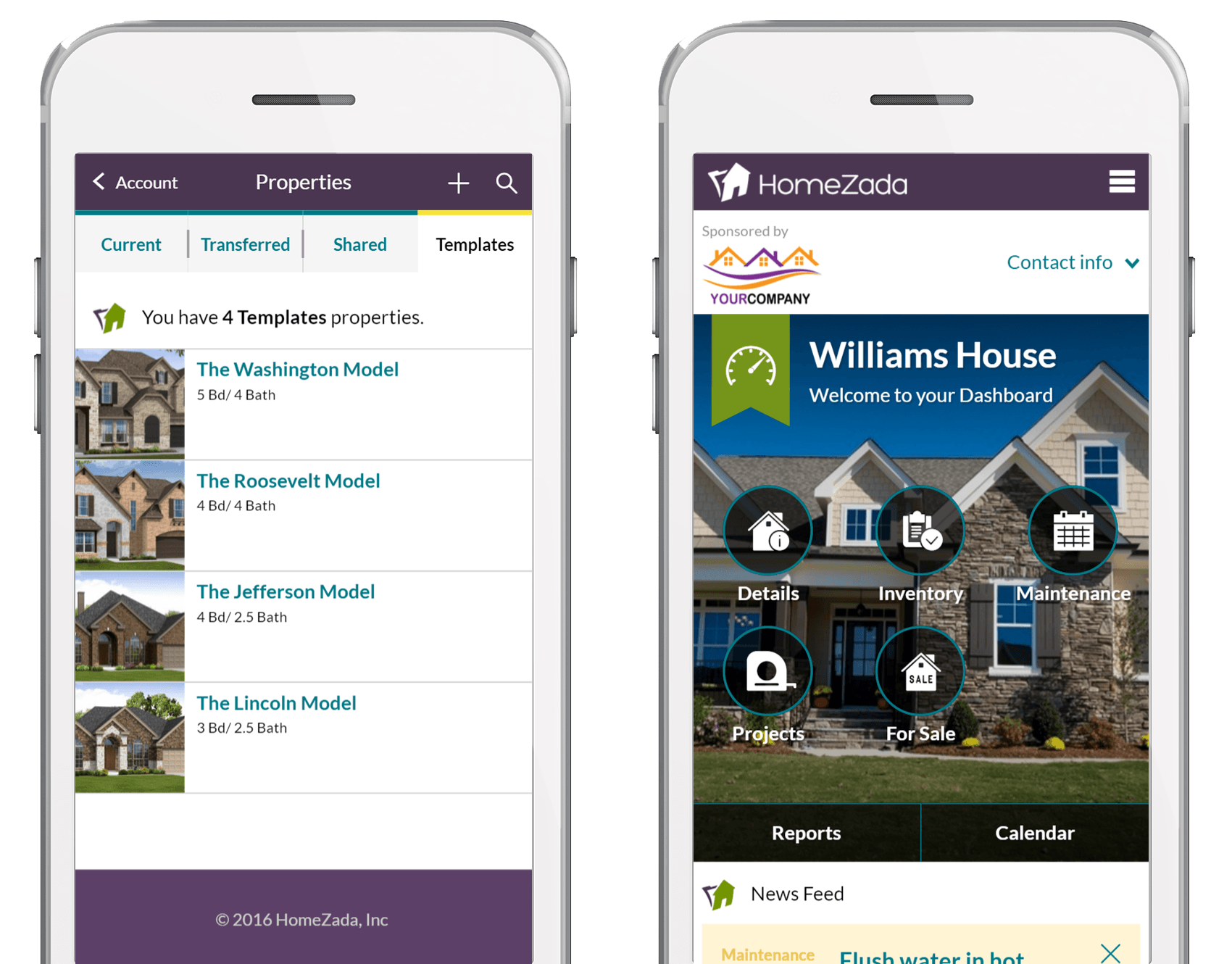 HomeZada Pro for Home Builders screenshot