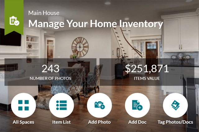 Homezada Pro for insurance overview