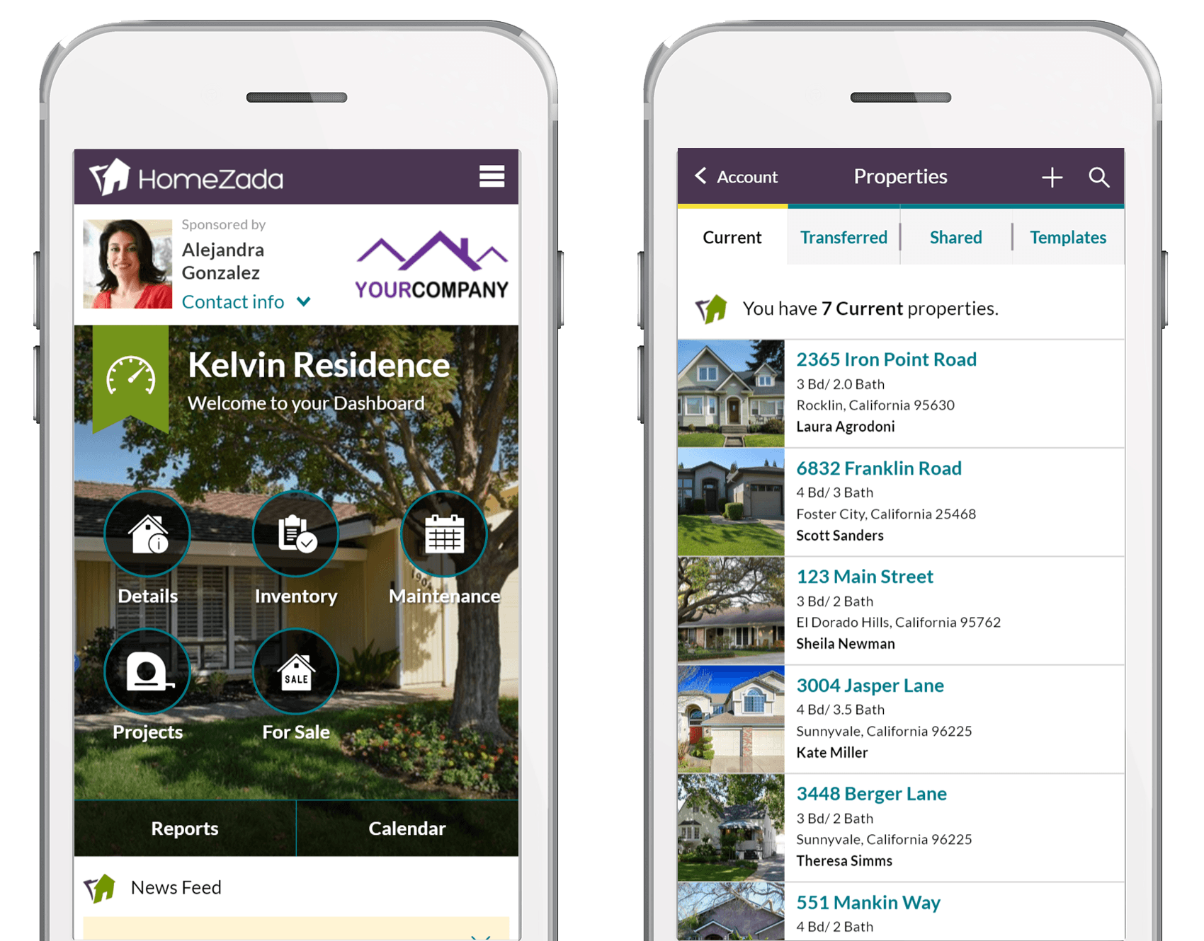 Homezada pro for service providers and property managers