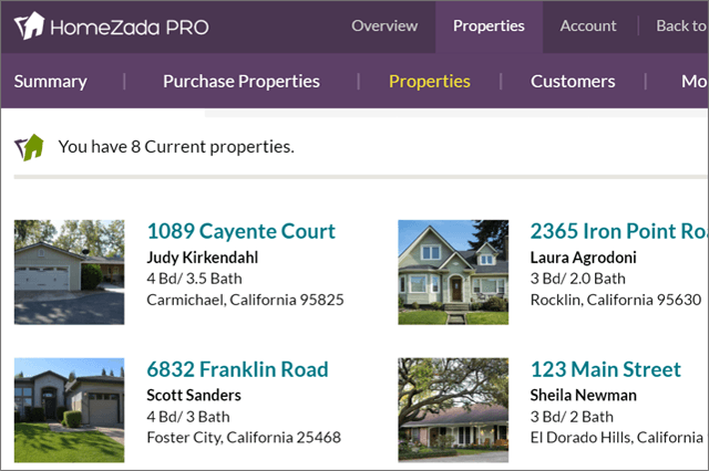 Homezada Pro for property manager overview