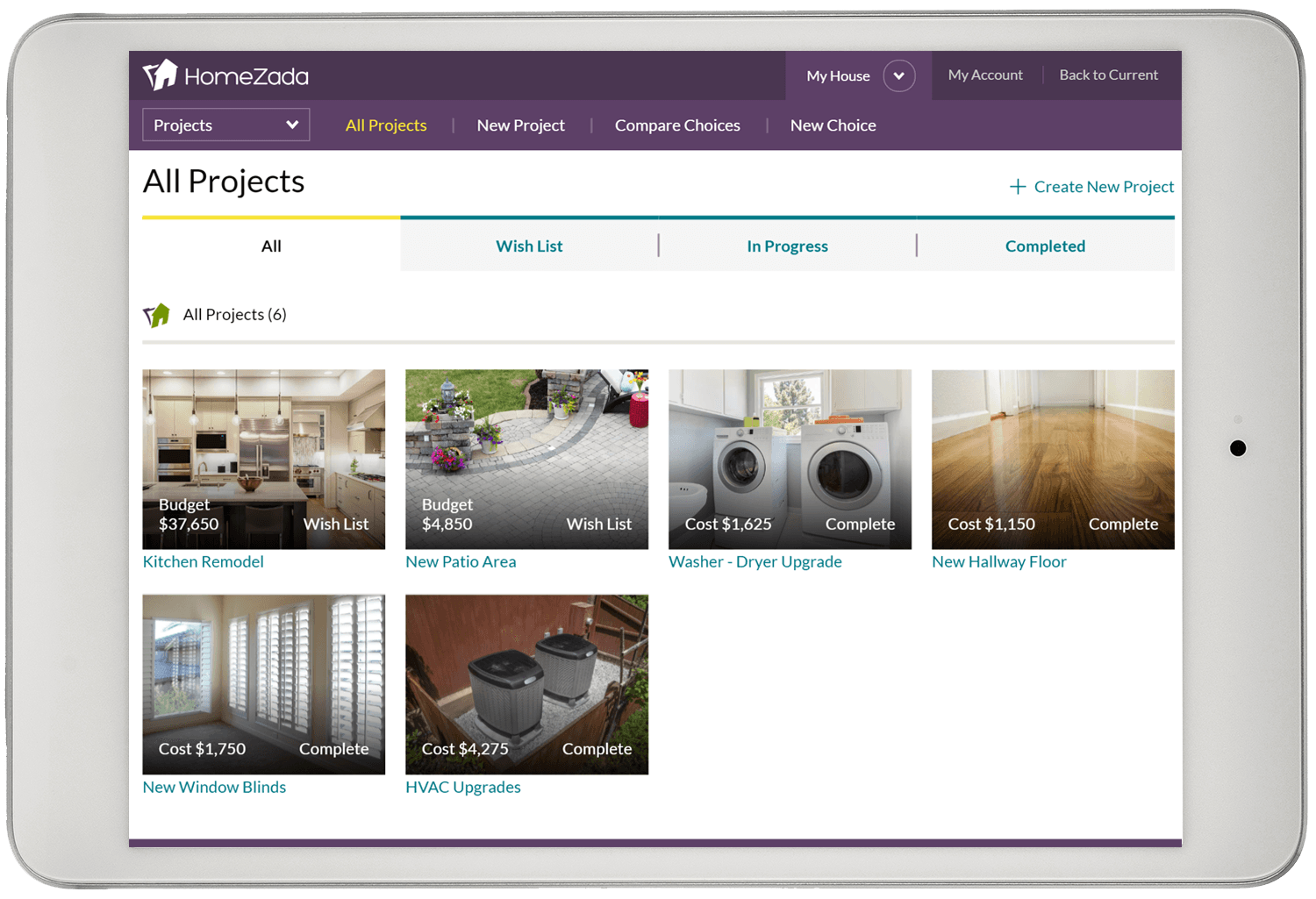 Homezada home property manager