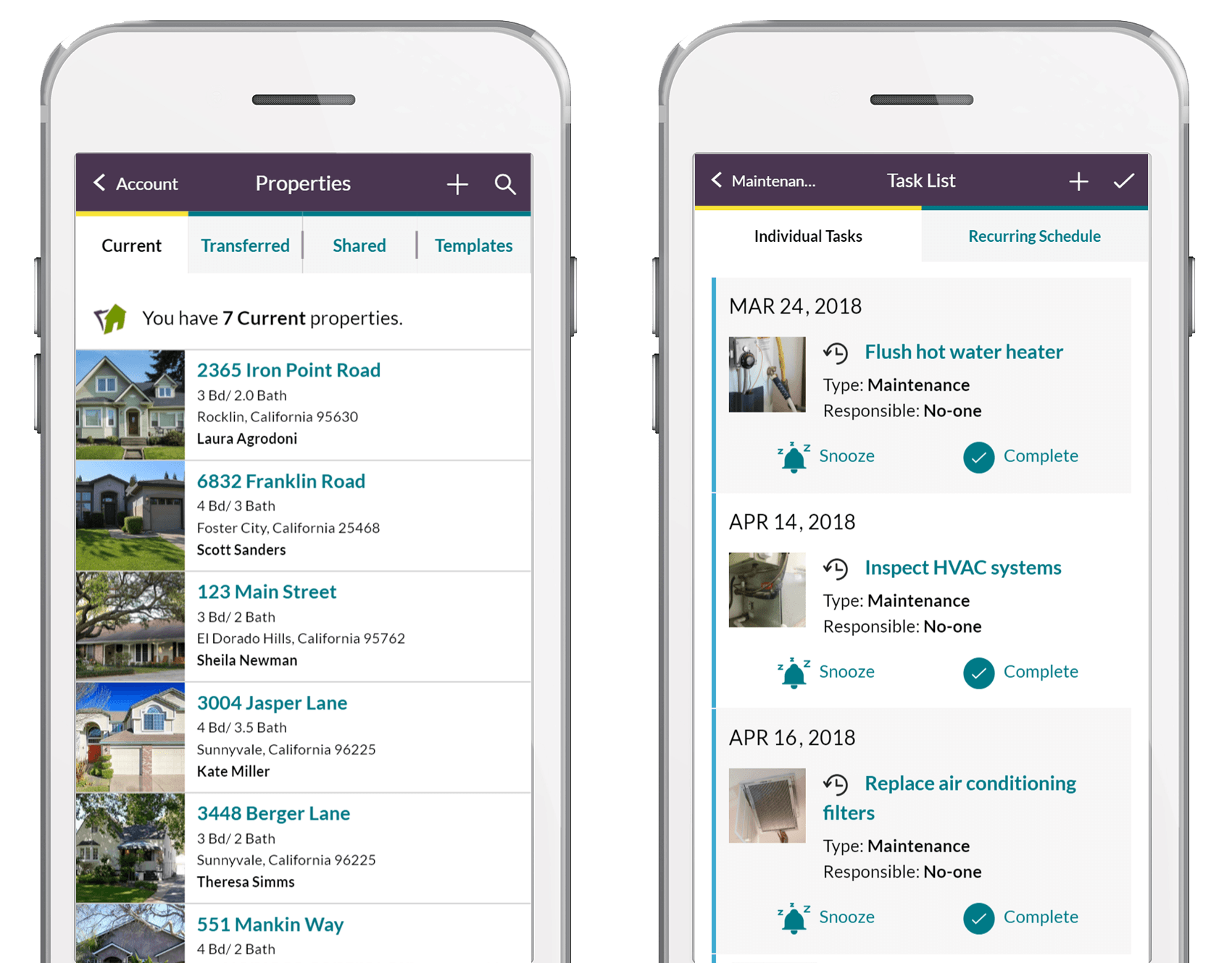 Homezada pro for property managers