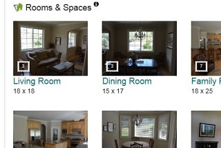 Zada real estate listing room tour